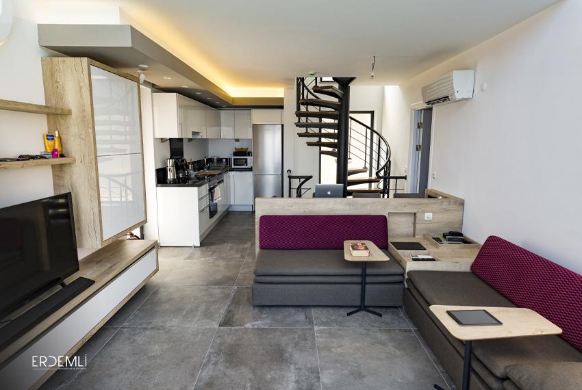 Otel odası iç mimari